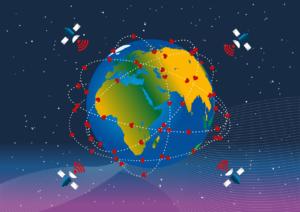 Conexión servicies Internet satelital